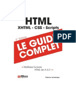 Livre Microapplication HTML Guide Complet Fr