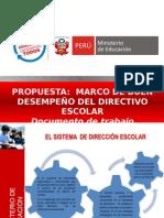 PROP. MARCO DEL BUEN DESEMPEÑO DIRECTIVO