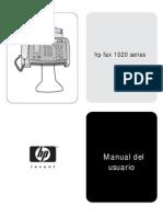Manual HP Fax 1020