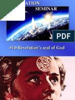 10--Revelation's Seal of God