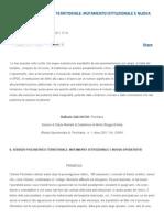 Il Servizio Psichiatrico Territoriale_ Mutamento Istituzionale e Nuova Operativita