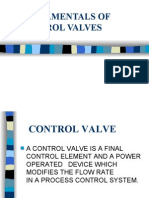 control valveS PRESENTATION