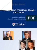 Week 6 -- Formulating Strategy -- Teams and Dyads -- Student Copy