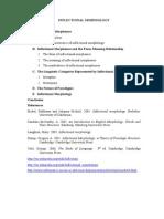 INFLECTIONAL MORPHOLOGY.doc