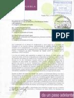 Carta Del Nodo de Transparencia Al Congreso 151013