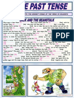 Simple Past Tense Jack and the Beanstalk 2