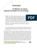 Simmel and Weber
