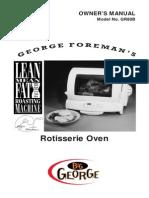 Big George Oven Manual