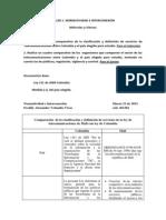 TALLER 1(Comparación ley de telecomunicaciones de Mali con ley de Colombia)
