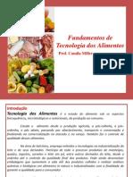 Tecnologia dos Alimentos Aula 1 Introdução