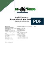 Echegaray, Jose - La Realidad Y El Delirio