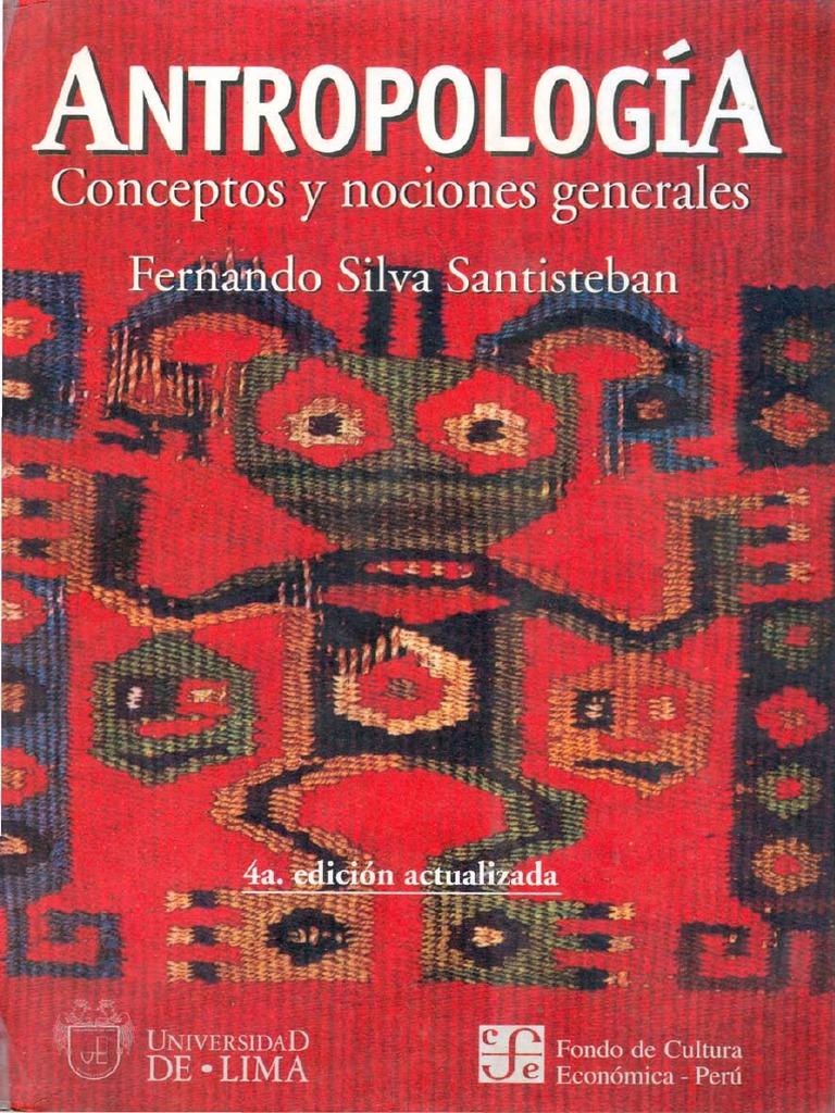 Resultado de imagen para fernando silva santisteban la ciencia antropologica pdf