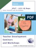 Teacher Development Catalogue