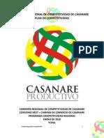 Plan Regional de Competitividad de Casanare