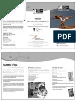 Anatomia y Yoga 2012