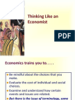19 Sept 2013. Thinking Like an Economist
