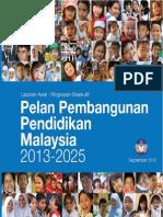 Pelan Pembangunan Pendidikan Malaysia Ringkasan .