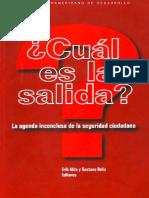 Hugo Frühling - Dos décadas de reforma policial en América Latina, factores para su éxito o fracaso