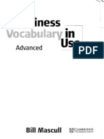 Business Vocabulary in Use - Advanced Mascull Cambridge - Nguyen Tan Tien(1)