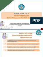 Paparan Standar Penilaian 2013_Prof Udin