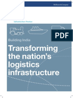 Building India-Transforming the Nations Logistics Infrastructure