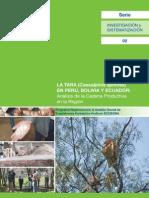 Cadena Productiva de Tara Peru,Bolivia y Ecuador
