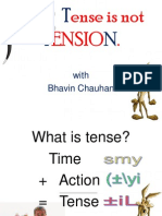 Tense is Not TENSION New