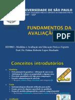 Fundamentos da Avaliação Física