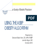 Curing Obesity by Medical Algorithm