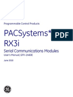 PACSystems RX3i Serial Communications Modules User's Manual, GFK-2460E