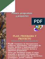 16. Planes, Programas y Proyectos