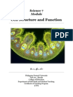 Module Cell Structure and Function