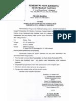 Pengumuman Jadwal Test CPNS 2013