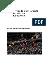 Teknik Bernmain Bola Basket