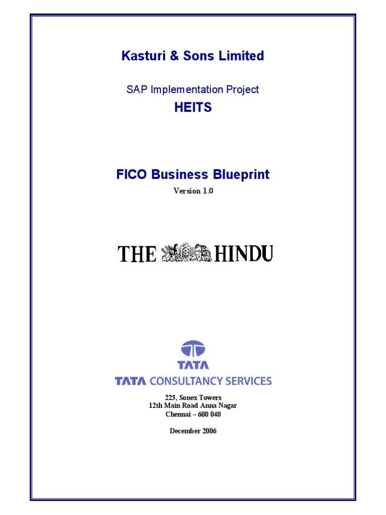 FICO TCS Blueprint | Depreciation | Business Process