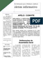 Boletim MPI n.º 7 - Maio de 2006