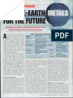 Rare-earth Metals for the Future