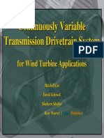 Continuous Variable Transmission