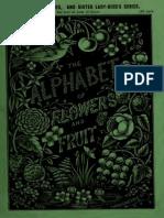 Alphabet of Flowers, Dean & Son's, Coloured Six-Penny Books