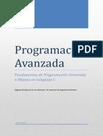 Programación Avanzada. Primer Parcial
