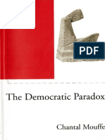 Chantal Mouffe - The Democratic Paradox