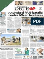Periódico Norte de Ciudad Juárez 21 de Octubre de 2013