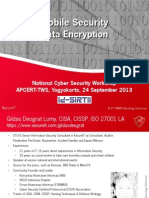 Mobile Security - Data Encryption - APCERT Yogyakarta 24 Sept 2013