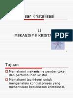 3_Dasar Kristalisasi (Bag II)