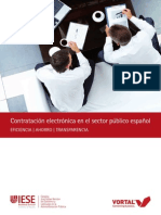 Contratación electrónica en el sector público español