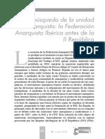 LaBusquedaDeLaUnidadAnarquista-La Fai Antes de La Segunda Republica