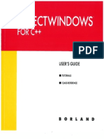 Borland Objectwindows for C++ Users Guide
