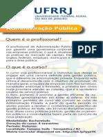 Folder Administracao Publica