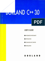 Borland C++ 3 0 Users Guide 1991