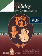 Holiday Scrollsaw Ornaments
